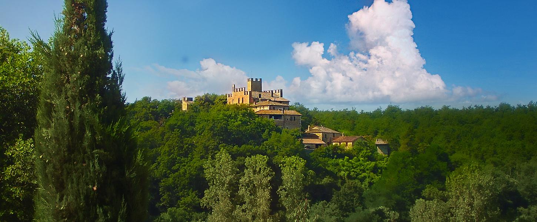 Tuscany Hills Siena Sunset