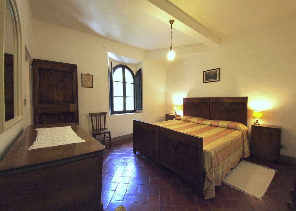 Second bedroom La Fattoria: for family holidays in italy