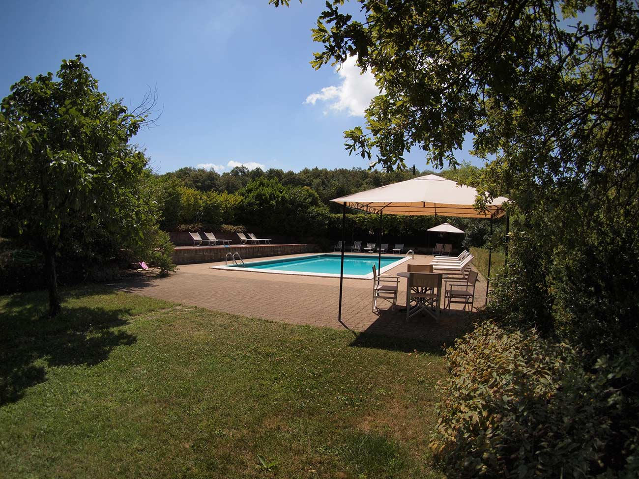 villa rental tuscany with pool